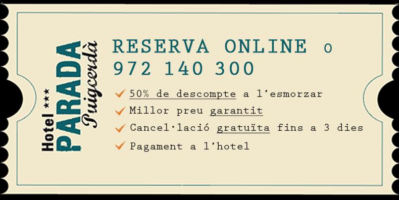 Tiquet Promoció - Hotel Parada Puigcerda