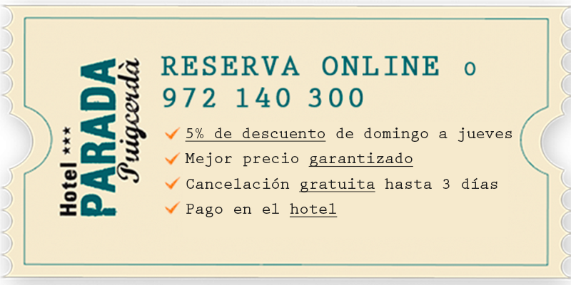Tiquet Promoción - Hotel Parada Puigcerda